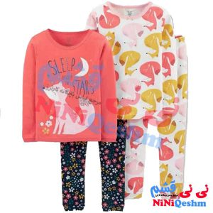 لباس راحتی دخترانه کارترز کد 510